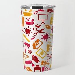 Art a circle Travel Mug