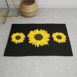 Live By The Sun(flower) Rug
