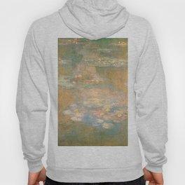 Water Lilies Claude Monet 1908 Hoody