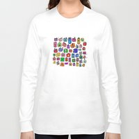 cameras Long Sleeve T-shirts featuring Cameras by andy_panda_