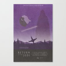 Return of the Jedi Movie Poster Canvas Print