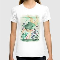 diver T-shirts featuring Diver by Jenny Jordahl