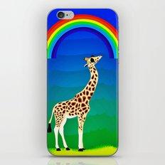 Giraffe with swag iPhone & iPod Skin