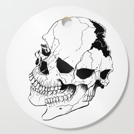 Skull (Fragmented and Conjoined) Cutting Board