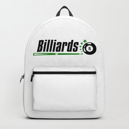 Billiard #society6 Backpack