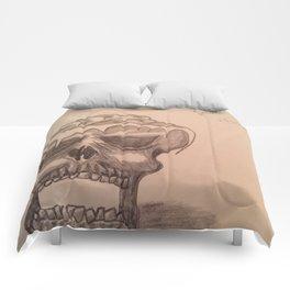 Elementary skull Comforters