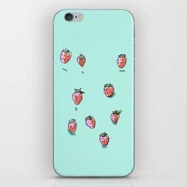 Strawberries iPhone Skin