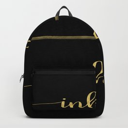 Inhale Greatness Backpack