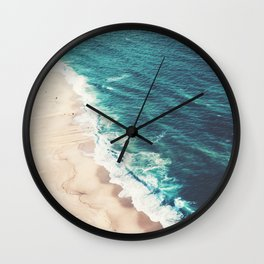 Beach Nazare Wall Clock