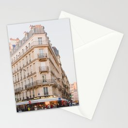 Sunset in Saint-Germain - Paris Photography Stationery Cards