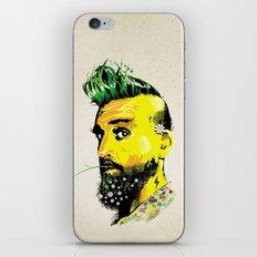GREEN BEARD iPhone & iPod Skin