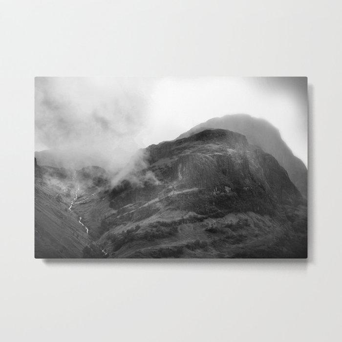Glencoe, Highlands, Scotland. Metal Print