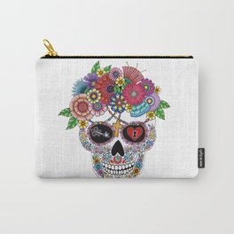 Lost Love WHITE Carry-All Pouch