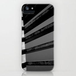 Shadows and Bars iPhone Case
