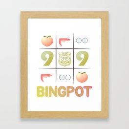 Bingpot Framed Art Print