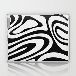 Black & White Minimal III Laptop & iPad Skin