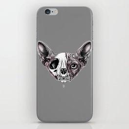 Shynx Half Skull iPhone Skin