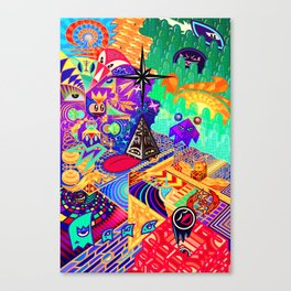 4th and a Half Dimension Canvas Print
