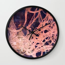 Copper Etching Plate 1 Wall Clock