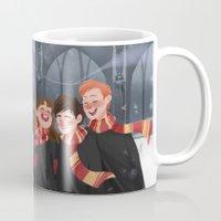 hogwarts Mugs featuring Hogwarts mug by CRAZiE-CRiSSiE