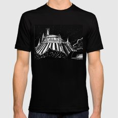 Space Mountain Mens Fitted Tee 2X-LARGE Black