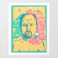 Louis CK Art Print