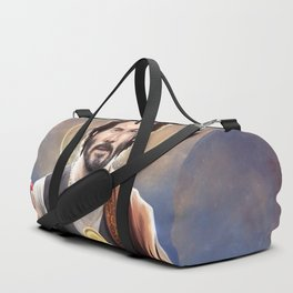 Saint Keanu of Reeves Duffle Bag