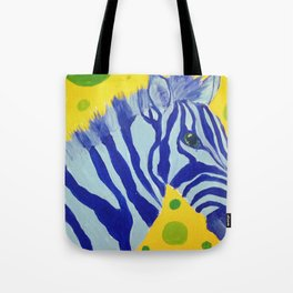 Zippy Blue Tote Bag