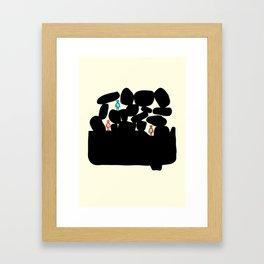 Holidays Framed Art Print