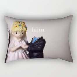 Married with *him* Rectangular Pillow