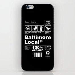 Baltimore Local iPhone Skin
