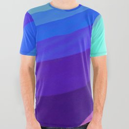 Color Wave ~008~ All Over Graphic Tee