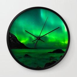 Northern Lights (Aurora Borealis) 5. Wall Clock