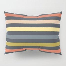 baby ikat stripe charcoal Pillow Sham
