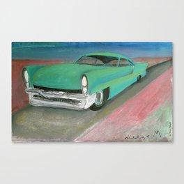 Lincoln 57 Canvas Print