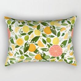 Punch Bowl Pattern Rectangular Pillow