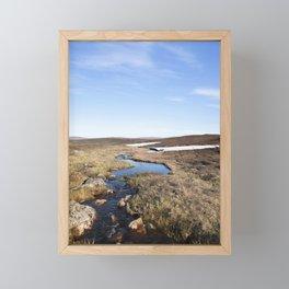 Nordic Steppes Framed Mini Art Print