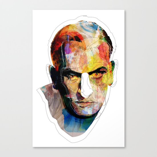 White nose Canvas Print