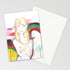 La fille de Siren Stationery Cards