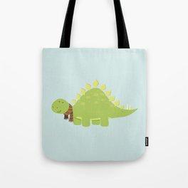 ScarfTegosaurus Tote Bag