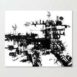 Terri-Airship Canvas Print