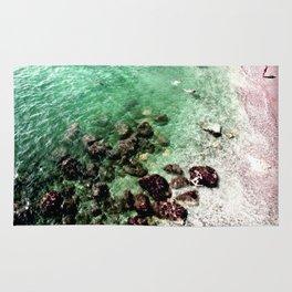 Bathing Beauties on the Amalfi Coast Rug