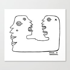 What Are The Voices Saying Today? Canvas Print