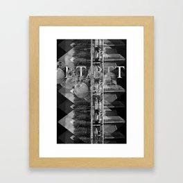BT/BTT Framed Art Print