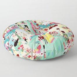 Ungeheuerlich Tel-Aviv Floor Pillow