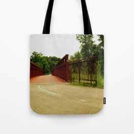 North Don Trail Bridgeway Tote Bag