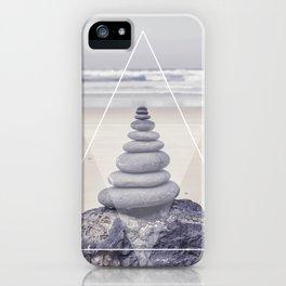 Rockbalancing And Geometry iPhone Case