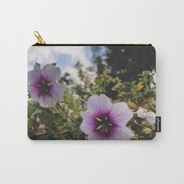 flowers are purple Carry-All Pouch
