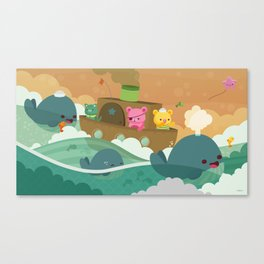 Friends Of The Seven Seas Canvas Print