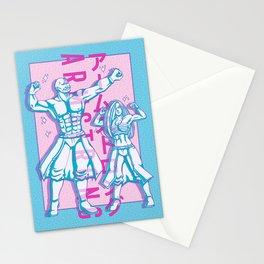 Armstrong! Alex and Olivier Vaporwave Design Stationery Cards